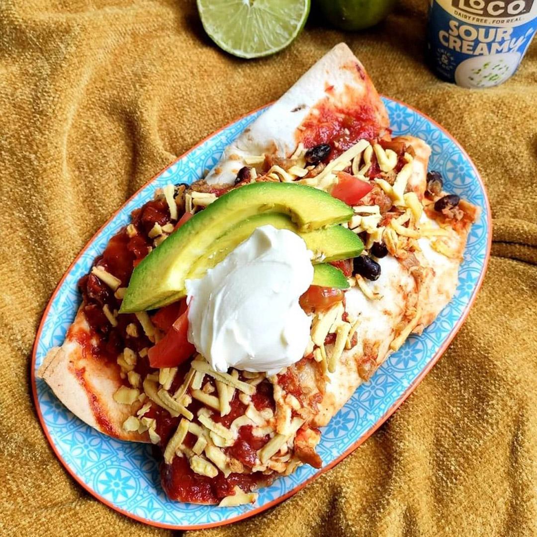 Creamy Cheesy Enchiladas